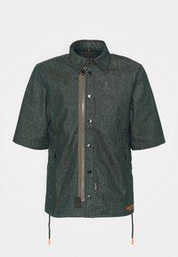 G-Star - GSRR CROPPED LINED SHIRT - Overhemd - wakoucha denim raw denim - 4
