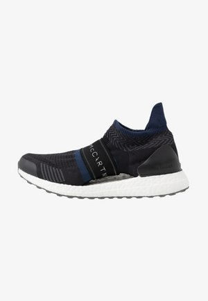 ULTRABOOST X 3D SPORT RUNNING SHOES - Nøytrale løpesko - black-white/night indigo/dgh solid grey