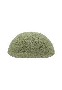 Konjac Sponge - KONJAC FACIAL SPONGE - Skincare tool - grüne tonerde - 1