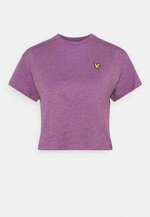 CROPPED  - Basic T-shirt - dark thistle