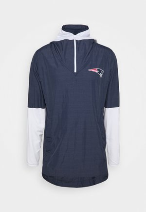 NFL NEW ENGLAND PATRIOTS TEAM LOGO PREGAME LIGHTWEIGHT PLAY - Training jacket - college navy/white