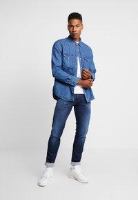 Replay - ANBASS HYPERFLEX CLOUDS - Jeans slim fit - dark blue - 1