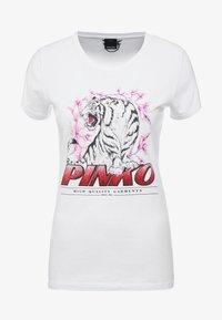 Pinko - PIMPI - Print T-shirt - white - 4