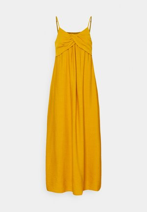 STRAPPY TWIST FRONT MIDI - Maxi dress - golden yellow