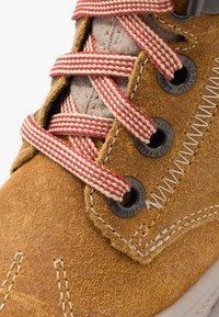 Superfit - GROOVY - Winter boots - gelb/beige/rot - 5