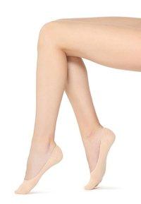 Calzedonia - LOW-CUT-FÜSSLINGE - Trainer socks - nude - 0