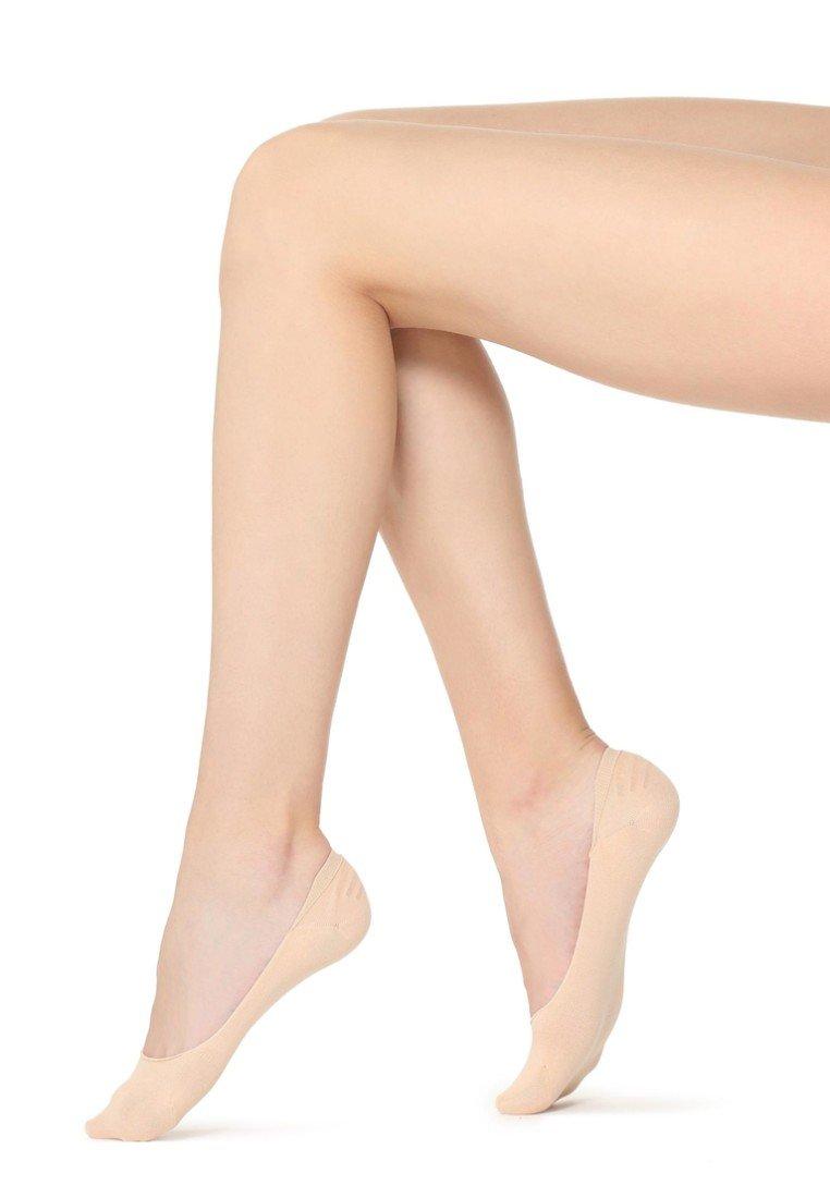 Calzedonia - LOW-CUT-FÜSSLINGE - Trainer socks - nude