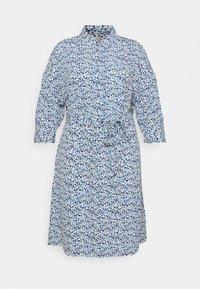 MY TRUE ME TOM TAILOR - SHIRT DRESS WITH BELT - Shirt dress - blue aquarelle - 4