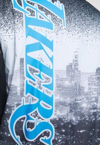 Nike Performance - NBA LOS ANGELES LAKERS CITY EDITION JACKET - Club wear - black/coast - 4