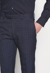 Limehaus - CHECK SUIT - Oblek - navy - 6