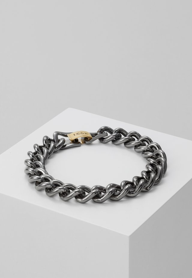 FOUNDATION BRACELET - Bracelet - gunmetal/gold-coloured