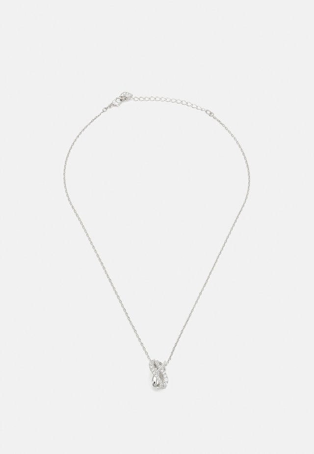 TWIST PENDANT - Ketting - silver-coloured