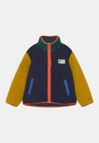 TINYCOTTONS - UNISEX - Fleece jacket - deep blue/honey - 0