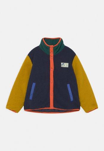 UNISEX - Fleece jacket - deep blue/honey