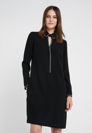 CHARLENE GLAM DRESS - Day dress - black