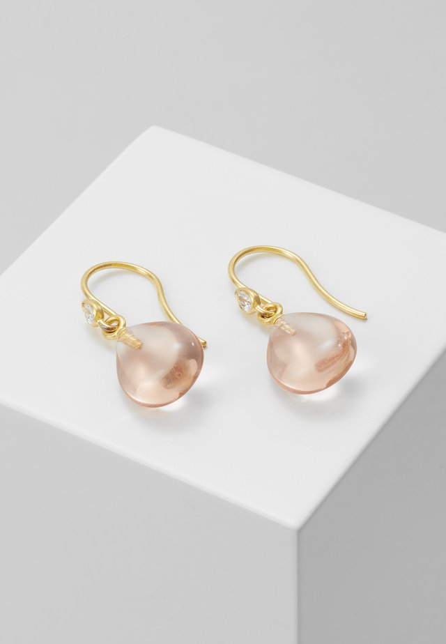 PRIMA BALLERINA EARRINGS - Øreringe - gold-coloured/blush