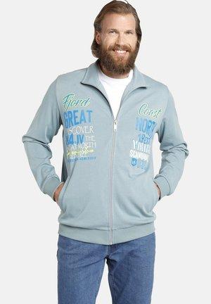 TIALF - Zip-up sweatshirt - blau