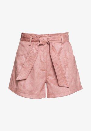SHIKOU - Shorts - vieux rose