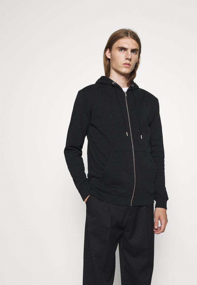 Bruuns Bazaar - PAUL AARON HOODIE - Mikina na zip - black