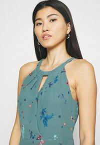 Esprit Collection - PRINT FLOWER - Maksimekko - dark turquoise - 3