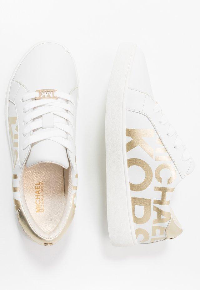ZIA JEM AITANA - Sneakersy niskie - white/gold