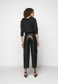 Lovechild - ASTON - Leather trousers - black - 2