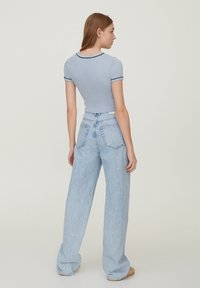 PULL&BEAR - Print T-shirt - light blue - 2