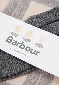Barbour - SET - Scarf - pink/grey tartan - 5