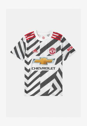 MANCHESTER UNITED UNISEX - Club wear - white/black