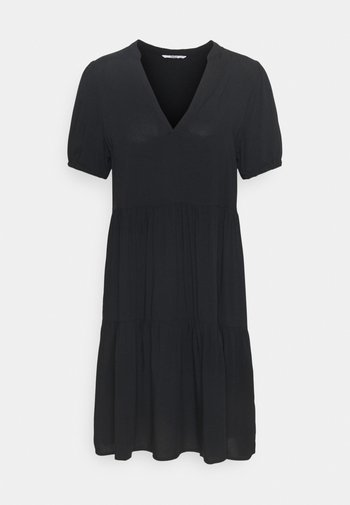 ONLNOVA LIFE THEA DRESS SOLID - Day dress - black