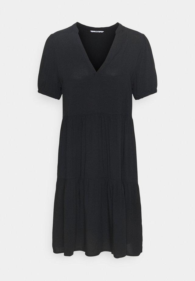 ONLNOVA LIFE THEA DRESS SOLID - Vapaa-ajan mekko - black