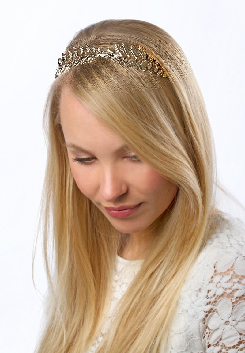 Six - Hair styling accessory - gold
