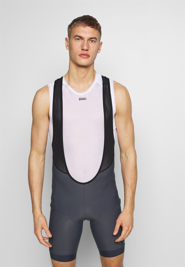 CHRONO SPORT BIB SHORT - Leggings - gunmetal