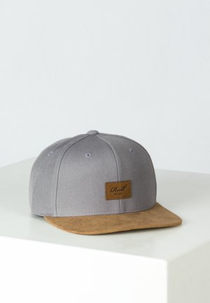 SUEDE - Cap - light charcoal