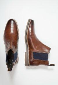 Bugatti - VANDO - Classic ankle boots - cognac - 1