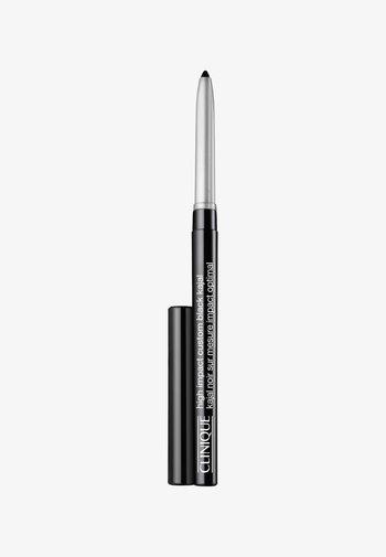 HIGH IMPACT CUSTOM BLACK KAJAL - Eyeliner - 01 blackened black