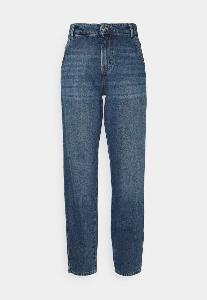 ONLY Tall - ONLTROY LIFE CARROT - Relaxed fit jeans - medium blue denim