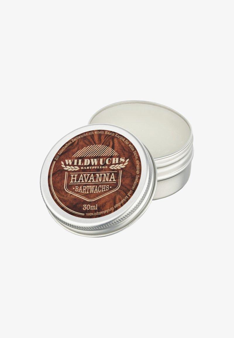 Wildwuchs Bartpflege - BEARD WAX - Beard oil - havanna