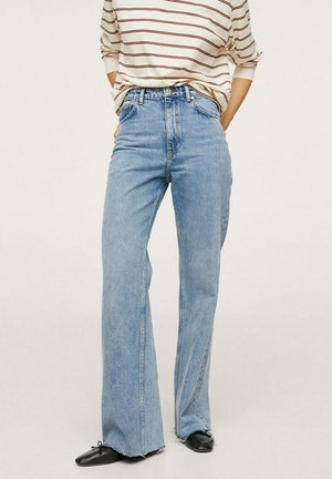TAILLE HAUTE - Flared Jeans - blue