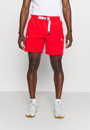CLASS V BELTED TRUNK - Shorts - fiery red