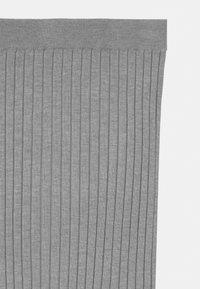 Grunt - ELSE  - Maxi sukně - grey melange - 2