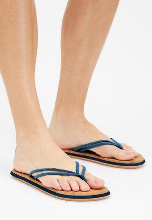 FOOTWEAR DITSY - T-bar sandals - dusty blue