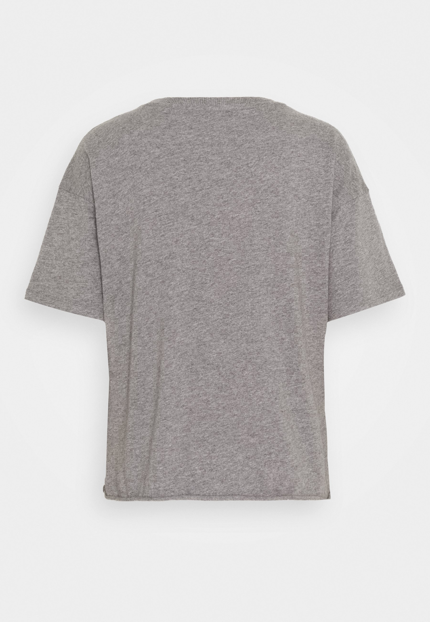American Eagle Branded Brights Santa Monica Tee - T-shirts Med Print Heather Gray/grå Denim