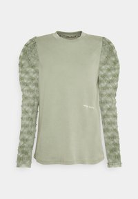 Miss Sixty - Long sleeved top - green grey - 0