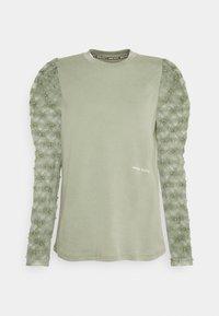 Miss Sixty - Top sdlouhým rukávem - green grey - 0