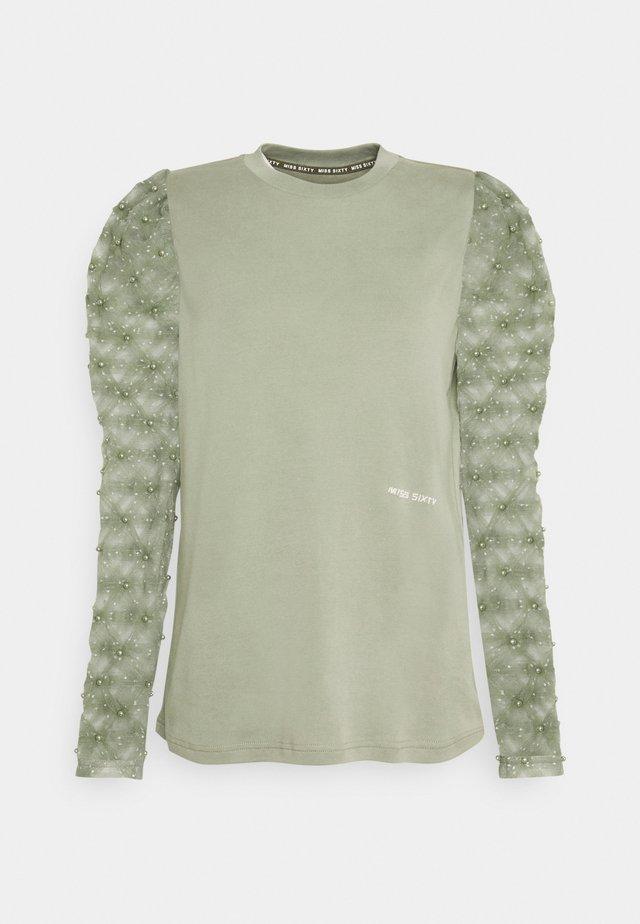 T-shirt à manches longues - green grey