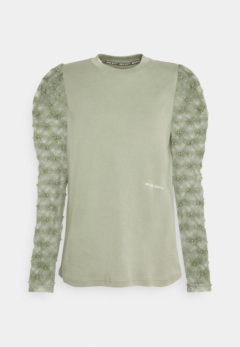 Miss Sixty - Top sdlouhým rukávem - green grey