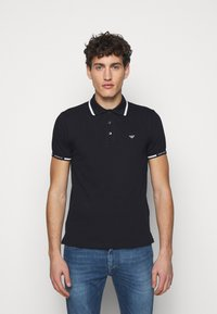 Emporio Armani - Polo shirt - dark blue - 0