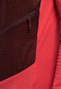 Haglöfs - L.I.M HYBRID HOOD  - Outdoor jacket - hibiscus red/maroon red - 5