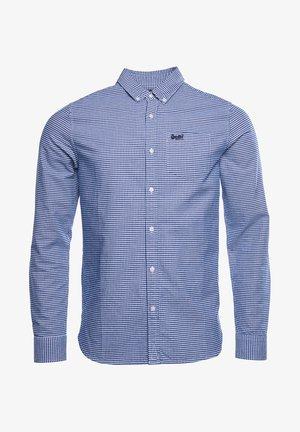 Shirt - royal blue gingham